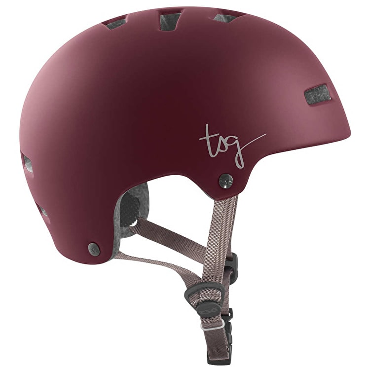 TSG Ivy Helmet - Satin Red
