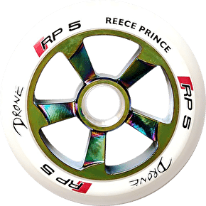 Drone RP5 110mm Wheel - Neochrome/White