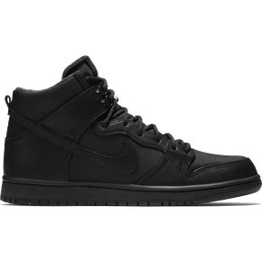 Nike SB Zoom Dunk High Pro Bota Skate Shoes - Black/Black/Anthracite