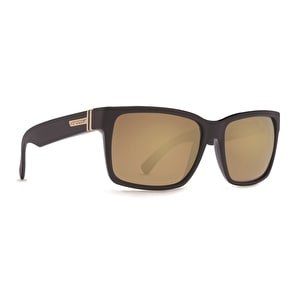 Von Zipper Elmore Sunglasses - Black Satin/Gold Glo