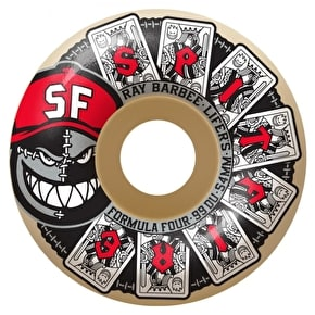 Spitfire Formula Four Barbee Lifers 99D Skateboard Wheels - 56mm
