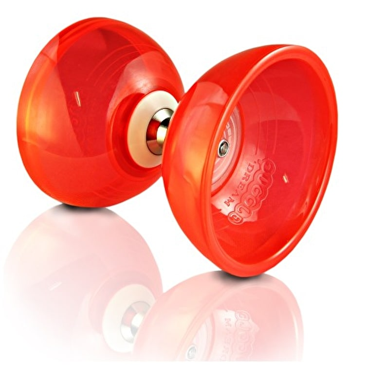 Juggle Dream Cyclone Quartz II Diabolo Pack w/DVD - Red