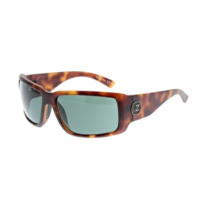 Von Zipper Drydock  Sunglasses - Tortoise Satin/Vintage Grey