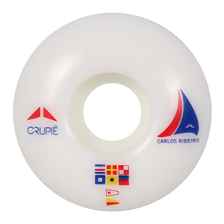 Crupie Ribeiro Sailing Skateboard Wheels - 53mm (4 Pack)