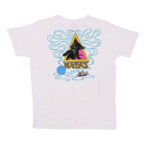 Santa Cruz Natas Small Kids T-Shirt - White