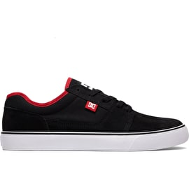 DC Tonik Skate Shoes - Black/Athletic Red