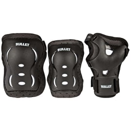 Bullet Blast Junior Triple Pad Set - Black/White
