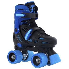 SFR Storm II Adjustable Quad Skates - Blue