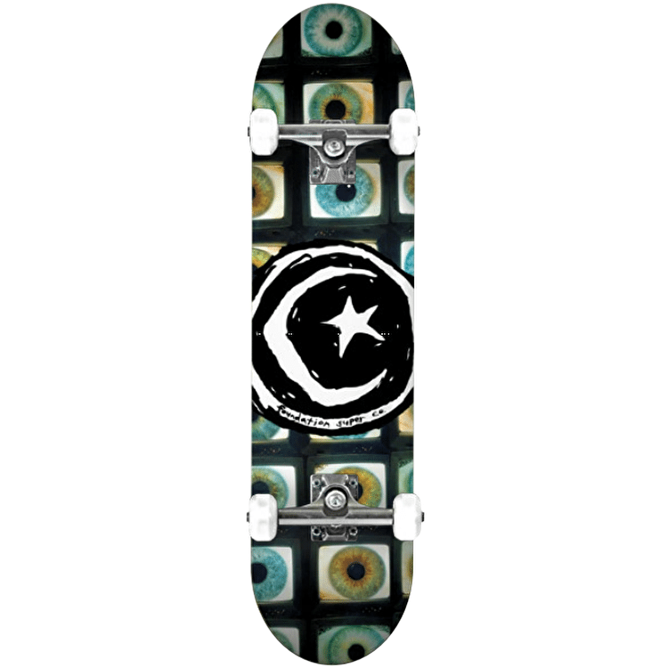 Foundation Star & Moon Pupil Complete Skateboard - 8.25""