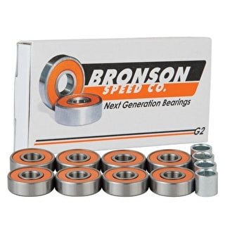 Bronson Speed Co. G2 Skateboard Bearings (Pack of 8)