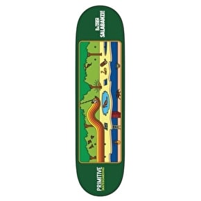 Primitive Skateboard Deck - Salabanzi Quest - 8.25''