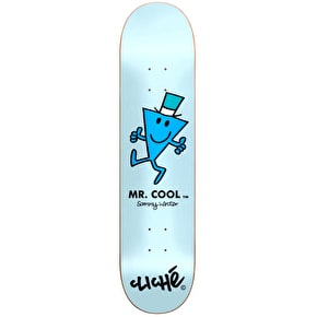 Cliché x Mr Men R7 Skateboard Deck - Mr Cool/Winter 8.375