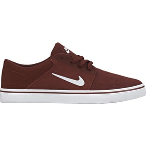 Nike SB Portmore Shoes - Team Red/White