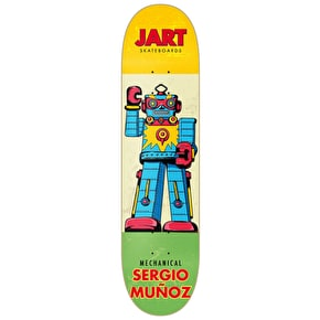 Jart Cut Off Skateboard Deck - Munoz 7.75