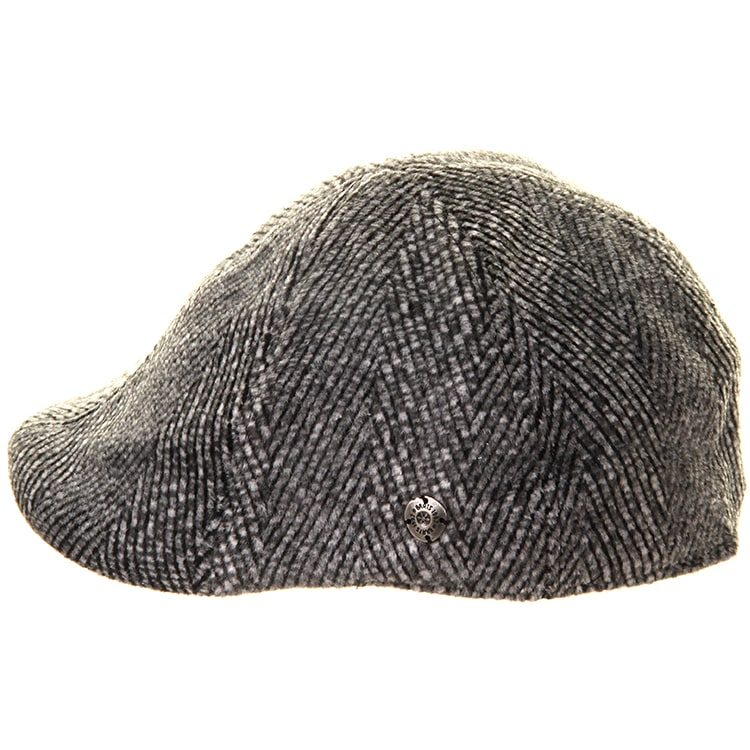 Barts Mr. Mitchell Flat Cap - Black