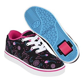 Heelys Launch - Black/Hot Pink/Blue