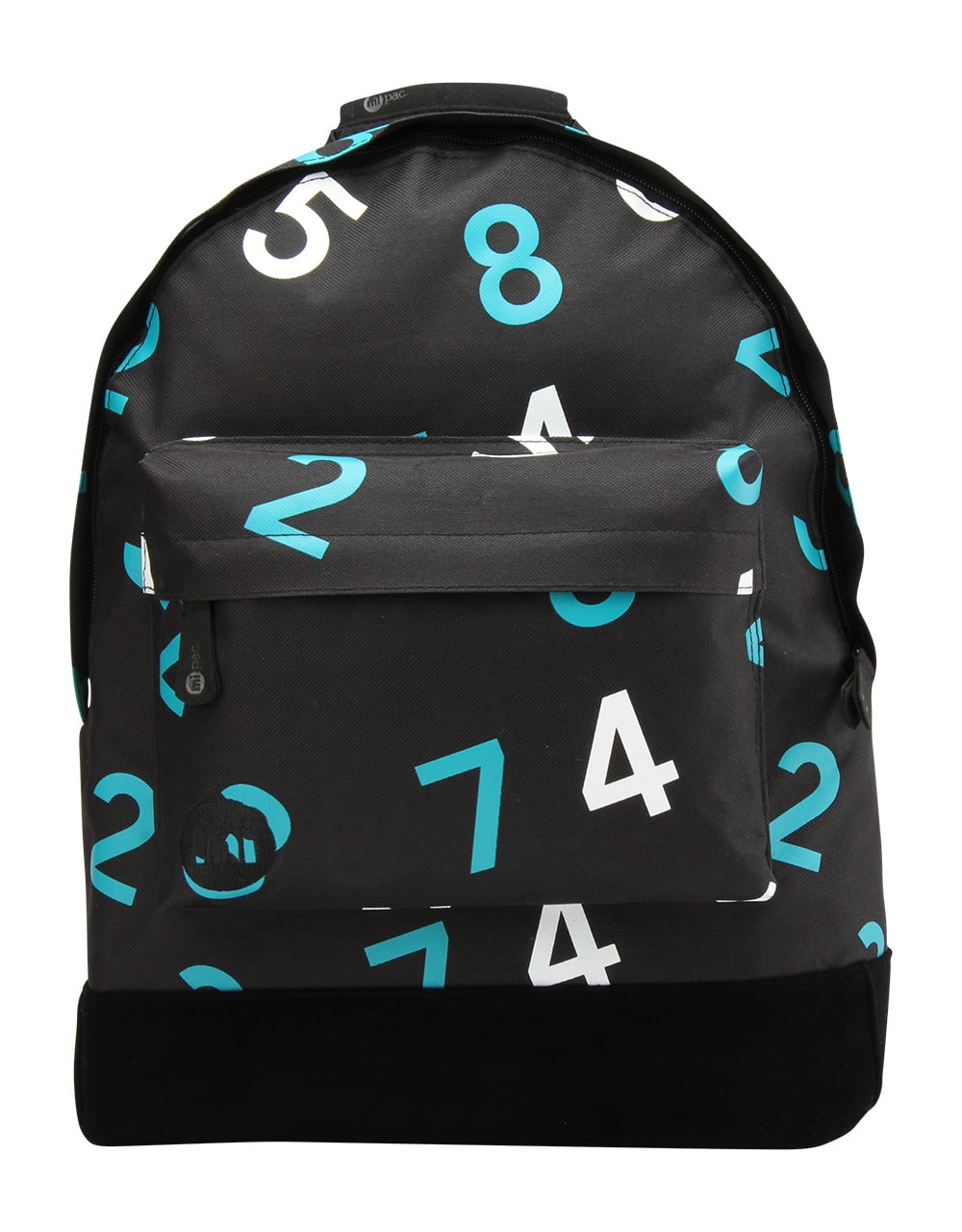 MiPac Numbers Backpack  Black