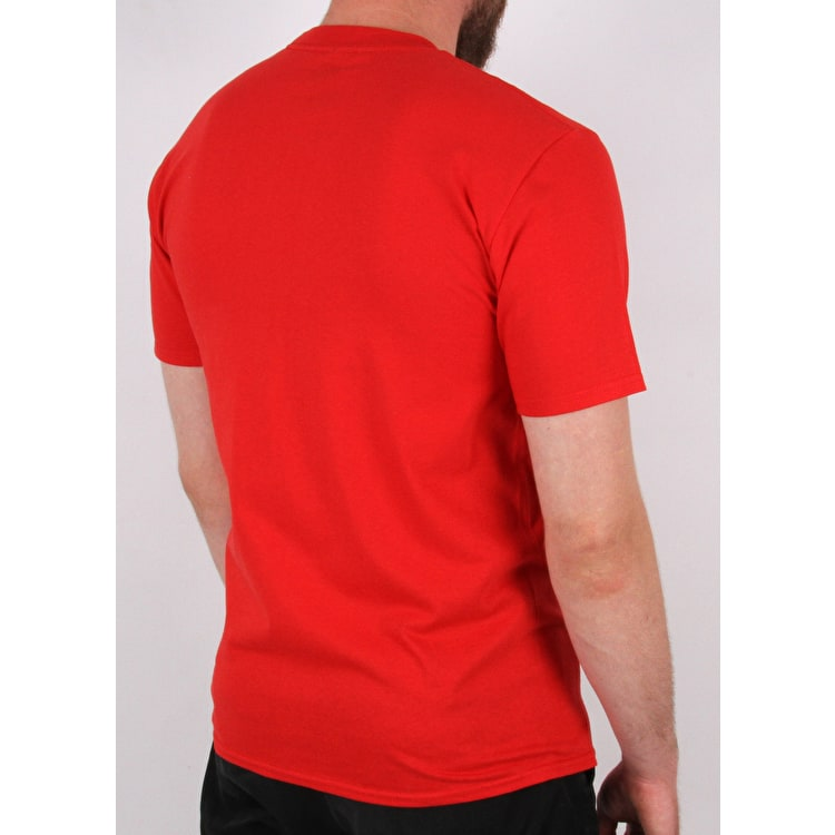 SkateHut Scooter Ride T-Shirt - Red