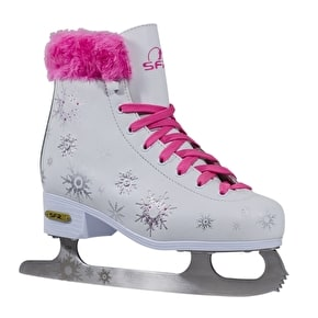 SFR Snowflake Vinyl Figure Ice Skates - UK Junior 11 (B-Stock)