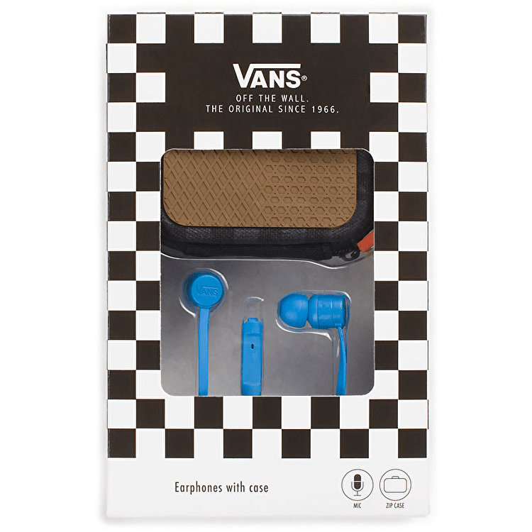 Vans Earphones - French Blue
