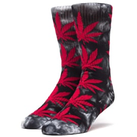 Huf Plantlife Crystal Wash Socks - Black