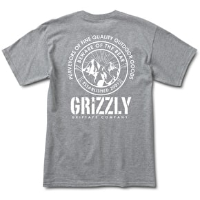 Grizzly Frost Peak T-Shirt - Heather