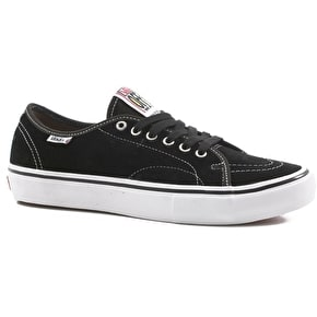 Vans AV Classic Pro Skate Shoes - Black/White
