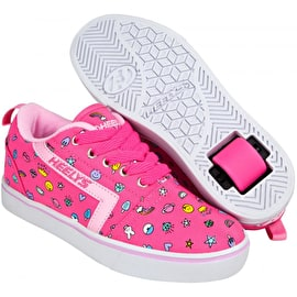 Heelys GR8 Pro Prints - Hot Pink/Light Pink/Emoji