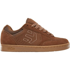 Etnies Swivel Skate Shoes - Brown/Brown/Gum
