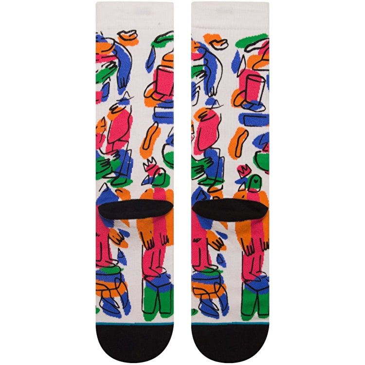 Stance In The Middle Of Somewhere Socks - Multi