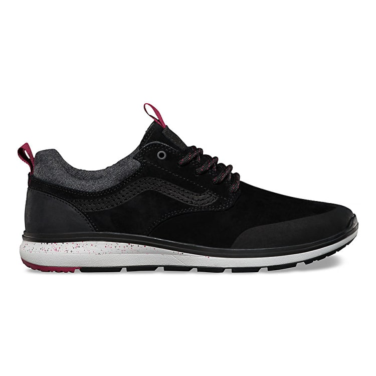 Vans ISO 3 MTE Skate Shoes - Black/Beet Red