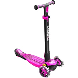Y-Volution YGlider XL Deluxe Complete Scooter - Black/Pink