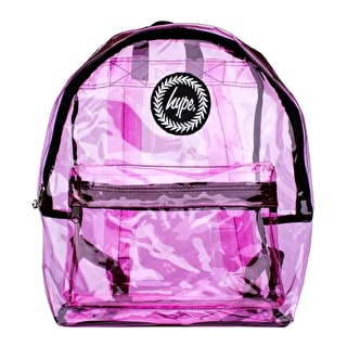 Hype Transparent Backpack - Pink
