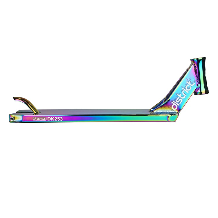 District S-Series DK253 Scooter Deck - Neochrome 530mm