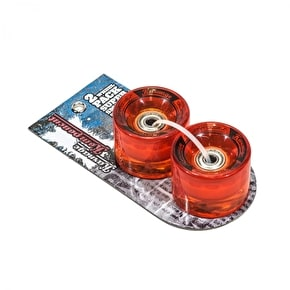 Karnage Super Smooth 59mm Skateboard Wheels - Orange - 2 Pack