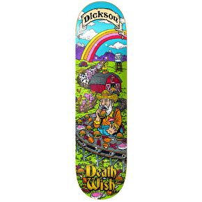 Deathwish Skateboard Deck - Story Time Dickson 8.25