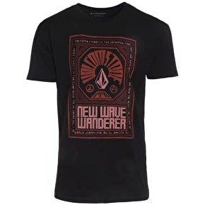 Volcom New Wave Kids T-Shirt - Black