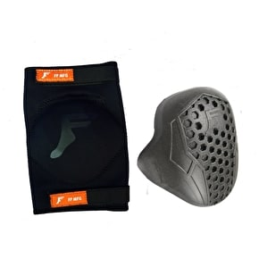 Footprint Elbow Pads - Black