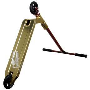 UrbanArtt Custom Scooter - Gold/Red