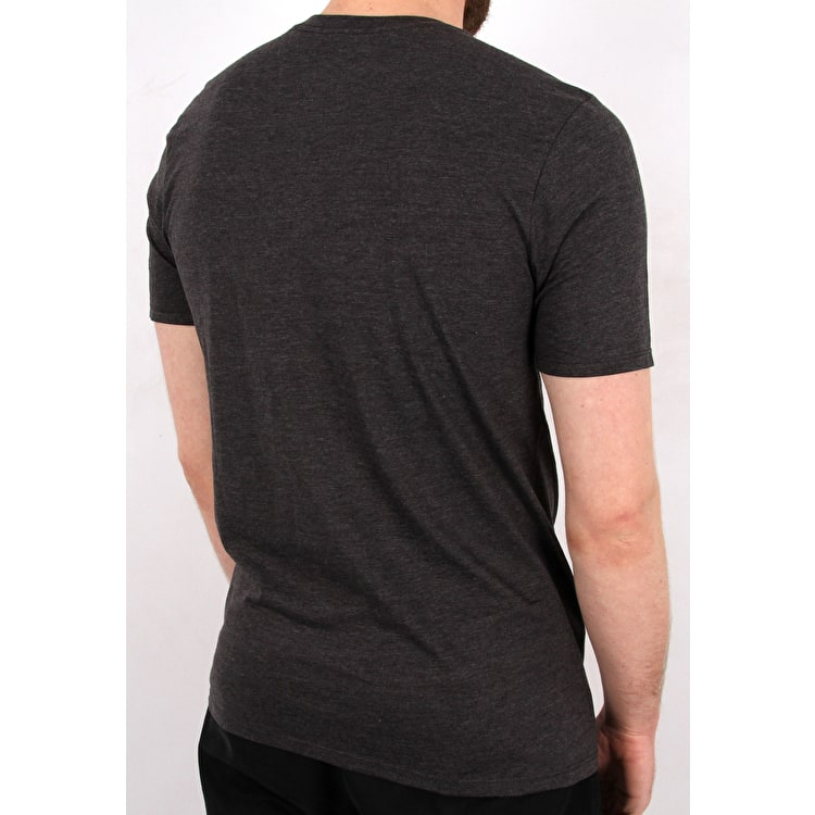 Hurley One & Only Solid T-Shirt - Black Heather