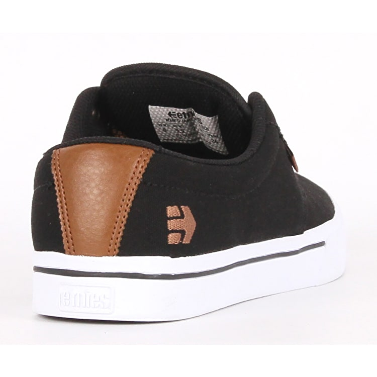 Etnies Jameson 2 Eco Skate Shoes - Black Raw
