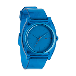 Nixon Time Teller P Watch - Translucent Blue