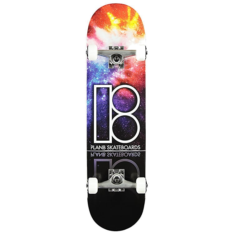 Plan B Team Nebula Complete Skateboard - 8.0""