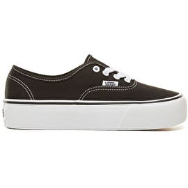Vans Authentic Platform 2.0 Skate Shoes - Black