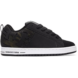 DC Court Graffik SE Skate Shoes - Black Camo