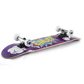 Enuff Pow II Mini Complete Skateboard - Purple