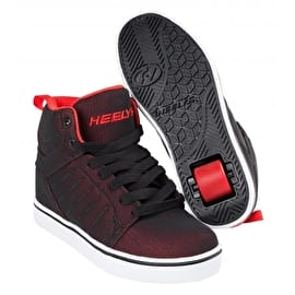 Heelys Uptown - Black/Red Super Mesh