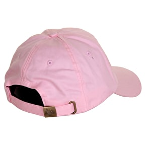 Hype Script Dad Hat - Pink/White
