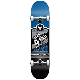 Darkstar Full Throttle First Push Complete Skateboard - Blue 7.625