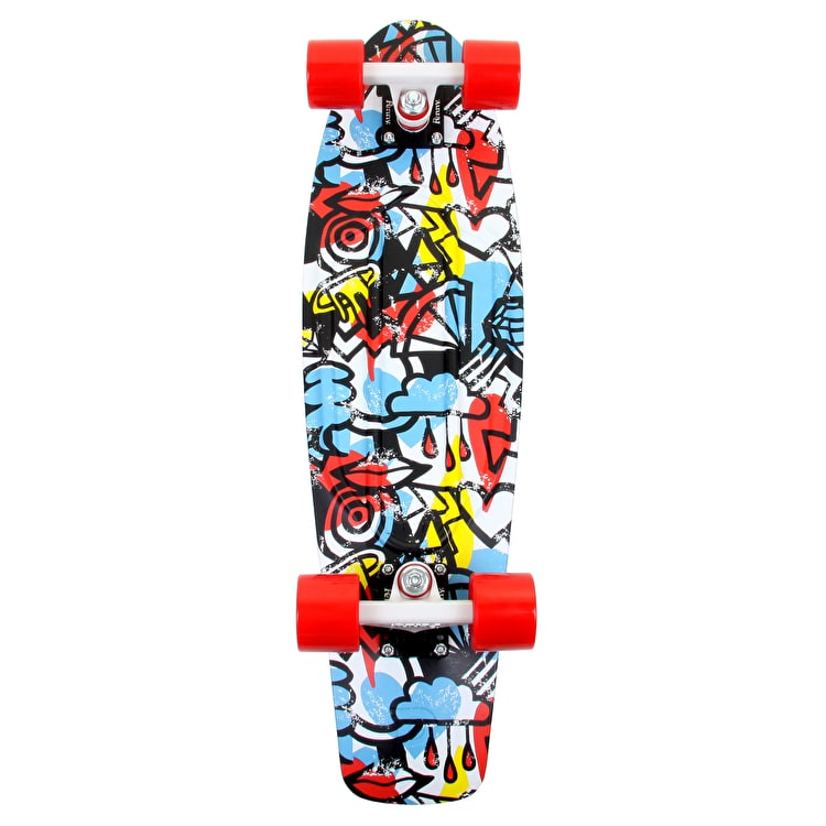 Penny Nickel Comic Fusion Complete Skateboard - 27""